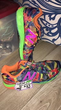 pair of multicolored Nike basketball shoes Tallahassee, 32304