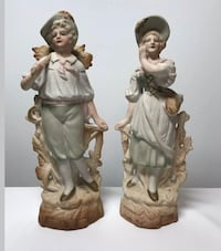 2 vintage figurines made in Japan man and woman Saint Peters, 63376