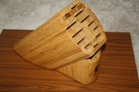 Shun Bamboo Knife Block  holder