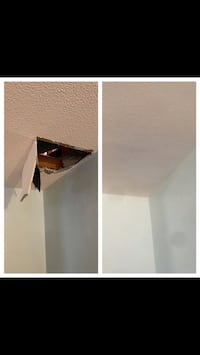 Drywall in ceiling repair Brampton