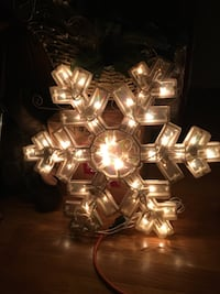 2 sided snowflake for window  Edmonton, T5Y