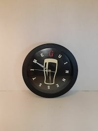 round black wood-framed analog wall clock Woodbridge, 22193