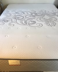 white and gray floral mattress Dunmore, 18510