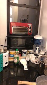 Compact microwave and toaster oven New York, 10128