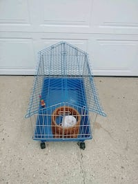 Guinea pig size cage with water bottle. Edmonton, T6J