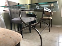 Modern Glass Dining Table Contemporary