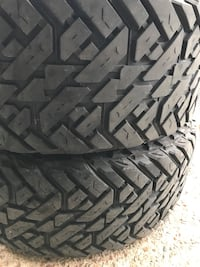 two black auto tire set Round Rock, 78681