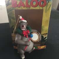 Baloo from Jungle Book ornament