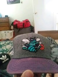 gray and purple hornets adjustable hat Moncton, E1C 5Z1
