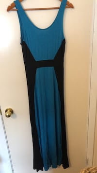 Teal long sleeveless Dress Toronto, M1C 2G2