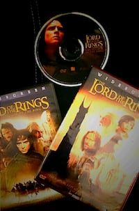 """DVD """"LORD OF THE RINGS TRILOGY""""  ONLY $15! Spring Hill, 34608"""
