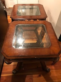 Solid wood side table  East Brunswick, 08816