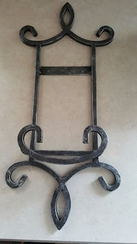 Beautiful Thick Wrought Iron Wall Hanging