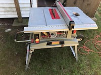 Craftsman table saw 10 inch Rockland, 02370
