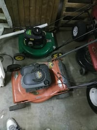 2 lawnmowers if you only want one give me price Old Forge, 18518