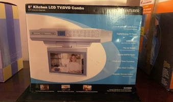 8 inch kitchen LCD TV DVD combo underneath kitchen cabinet Mount