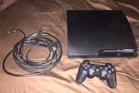 Sony ps3 slim console with controller and 13 games Jupiter, 33478