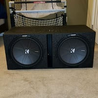 "Kicker CompR 15"" Subs/ Variety of JBL Subs + mor Conway, 29526"