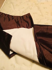 2 Chocolate color curtains and 2 Valences Springboro, 45066