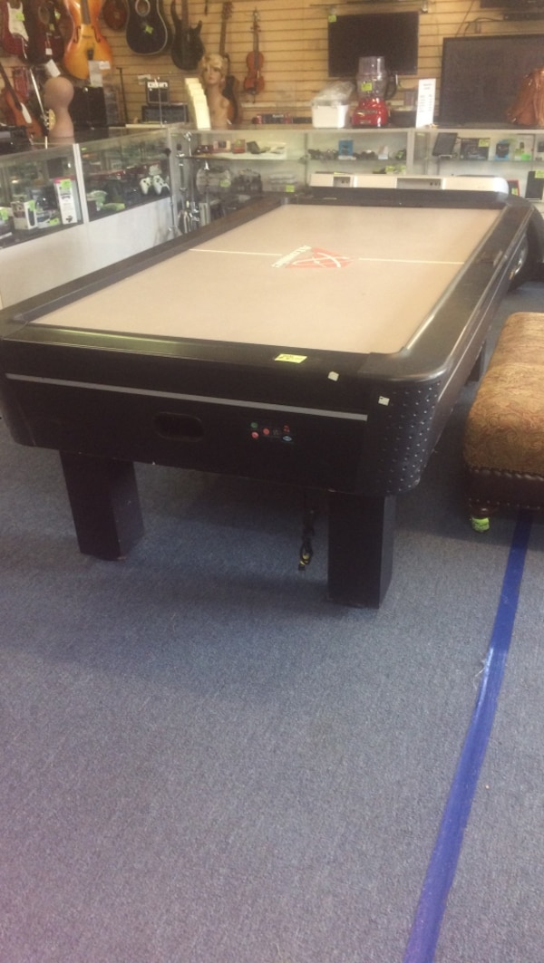 Commercial Air Hockey Table Atomic Go4863w