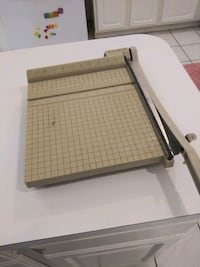 Paper cutter sharp
