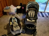 Graco stroller and carseat travel system Bothell, 98012