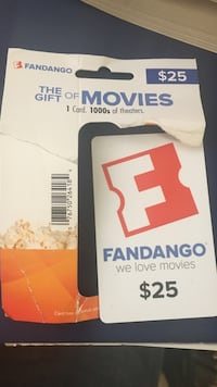 $25 movie ticket gift card Duluth