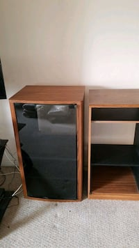 Stereo or storage cabinets