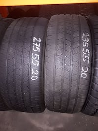4 all season  tires with Mercedes rims 275/50/20 P