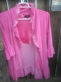 Juicy coture pink size small robe