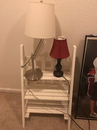 Lamps 5$ ea and stand $15 Lincoln, 95648