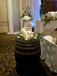 Wine Barrels $95 each Rental Vaughan
