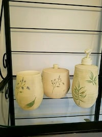 white and green ceramic mug Toms River, 08753