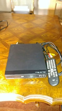 black Sony DVD player with remote Murchison, 75778