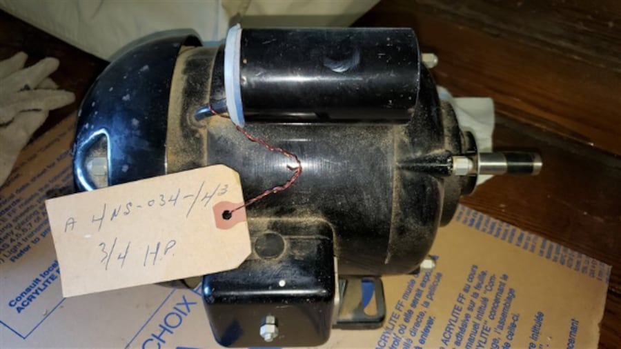 Electric motor 3/4 HP Never used 3
