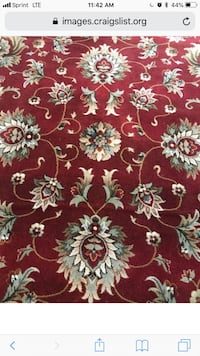 red and white floral textile Springfield, 22151