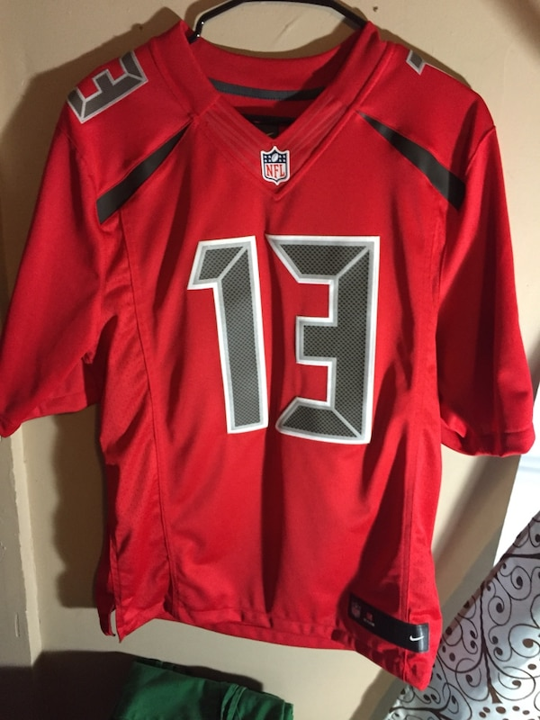 new products c52e2 477c9 Tampa Bay Buccaneers - Mike Evans - Color Rush - Size M
