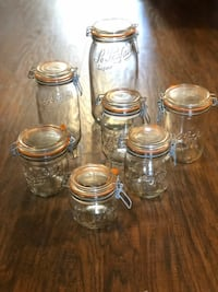 Le Parfait Jars, Assorted