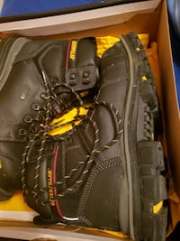 Cat steel toed boots