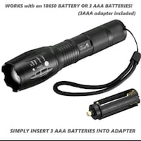Tac-Light LED Zoom Flashlight