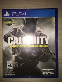 Call of duty infinite warfare ps4 game  Winnipeg, R3J 1J5