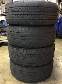 265/65R17 Goodyear Tires, Used Set of 4