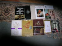 Nine (9) Books on or about The Popes Springfield