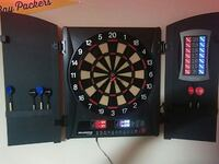 black and brown electronic dartboard Arlington, 76017