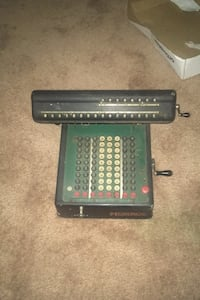 Antique Monroe Adding Machine