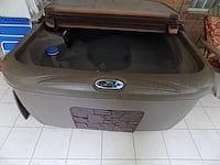 SOLD brown jetted hot tub FOLEY