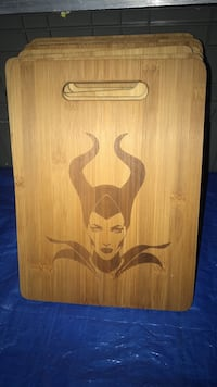 maleficent engraved by me cutting board 9 x 12 in.  San Bernardino, 92376