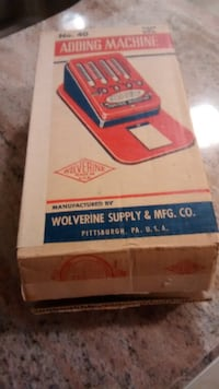 Wolverine Toy Adding Machine