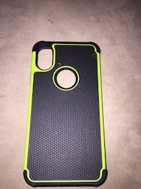 green and black iPhone case Calgary, T2E