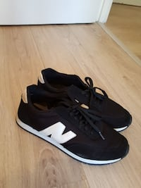 Black-and-white New Balance bas sneakers